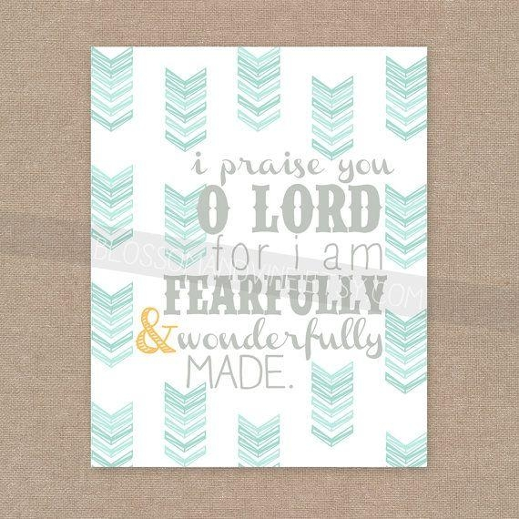 Best 25+ Fearfully Wonderfully Made Ideas On Pinterest | Fall Back With Regard To Fearfully And Wonderfully Made Wall Art (View 15 of 20)