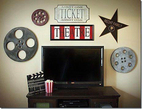 Best 25+ Film Reels Ideas On Pinterest | Movie Theme Decorations Intended For Movie Reel Wall Art (Image 7 of 20)