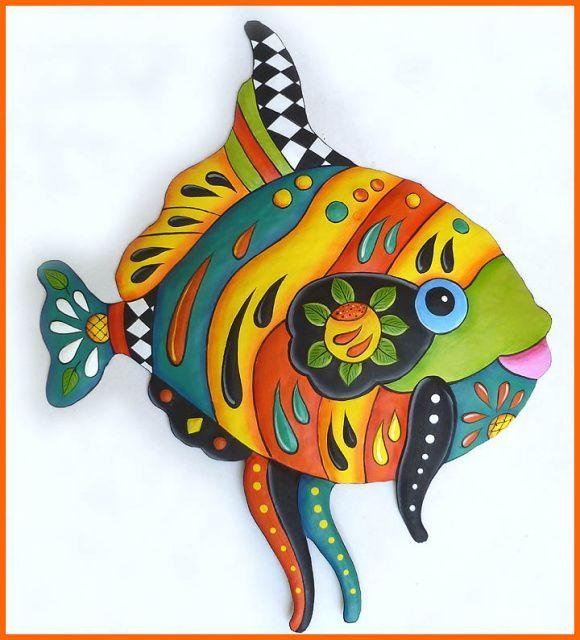 Best 25+ Fish Wall Decor Ideas On Pinterest | Fish Wall Art Throughout Caribbean Metal Wall Art (View 4 of 20)
