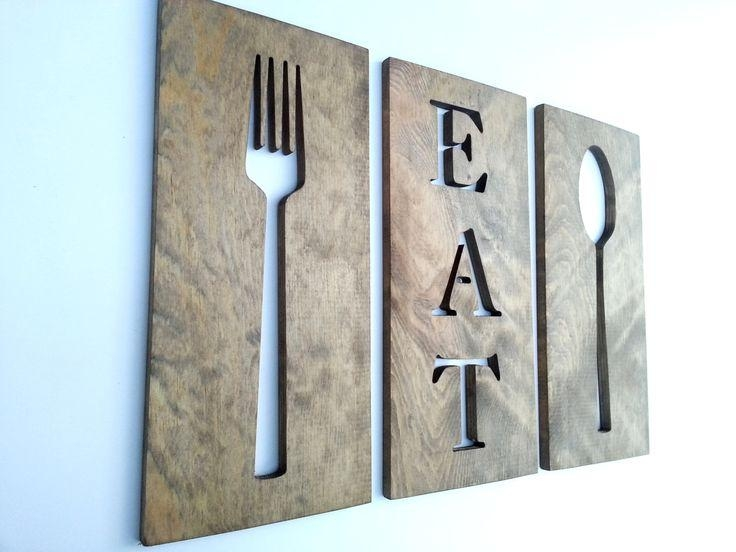 Best 25+ Fork Spoon Wall Decor Ideas On Pinterest | Chalkboard For Pertaining To Wooden Fork And Spoon Wall Art (View 10 of 20)