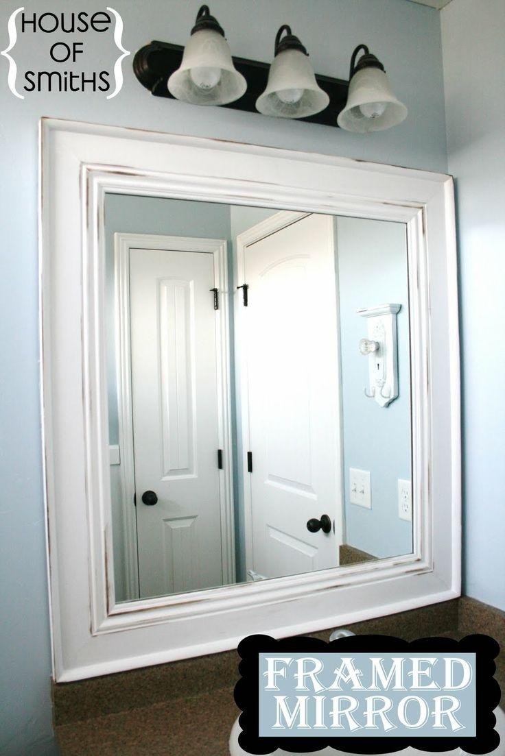 Best 25+ Frame Bathroom Mirrors Ideas On Pinterest | Framed With Frames Mirrors (Image 4 of 20)