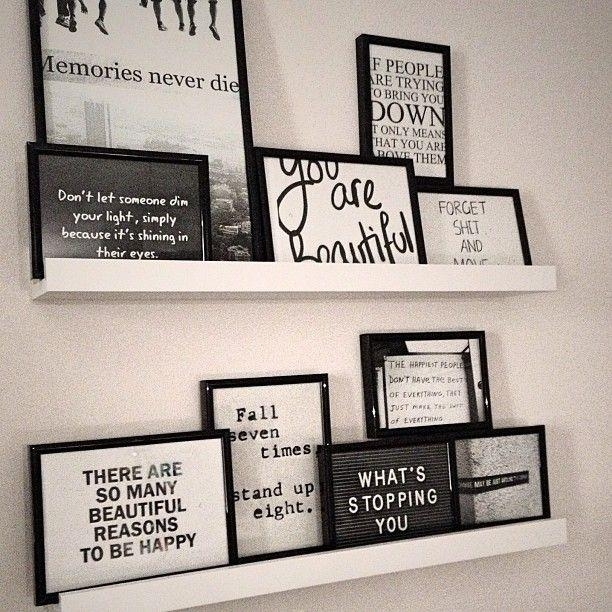 Best 25+ Framed Quotes Ideas On Pinterest | Bedroom Artwork, 24 X For Framed Wall Art Sayings (Photo 3 of 20)