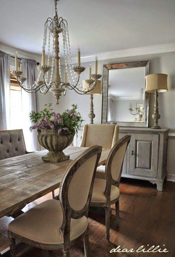 Best 25+ French Country Dining Room Ideas On Pinterest | French Throughout Best And Newest French Farmhouse Dining Tables (View 15 of 20)