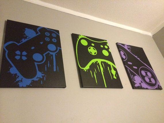 Best 25+ Game Room Decor Ideas On Pinterest | Game Room, Gameroom Pertaining To Wall Art For Game Room (Image 9 of 20)