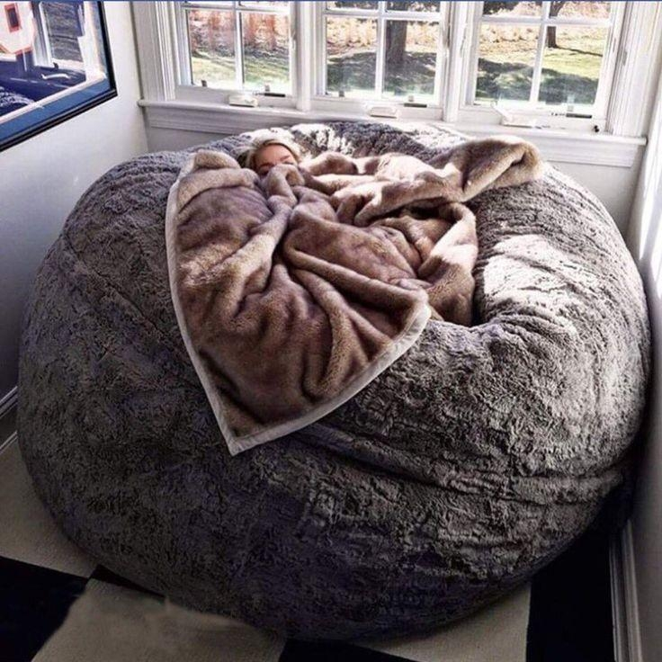 Best 25+ Giant Bean Bags Ideas On Pinterest | Bean Bags, Giant Inside Giant Bean Bag Chairs (Image 1 of 20)