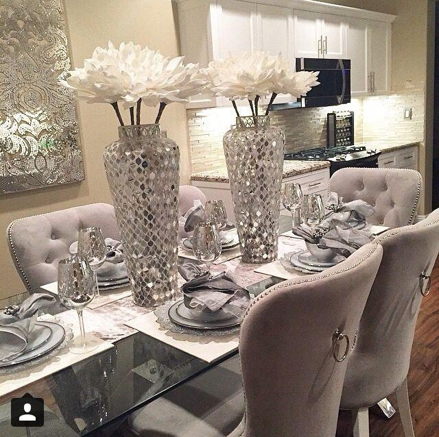 Best 25+ Glass Dining Table Ideas On Pinterest | Glass Dining Room In 2017 Dining Room Glass Tables Sets (Image 2 of 20)