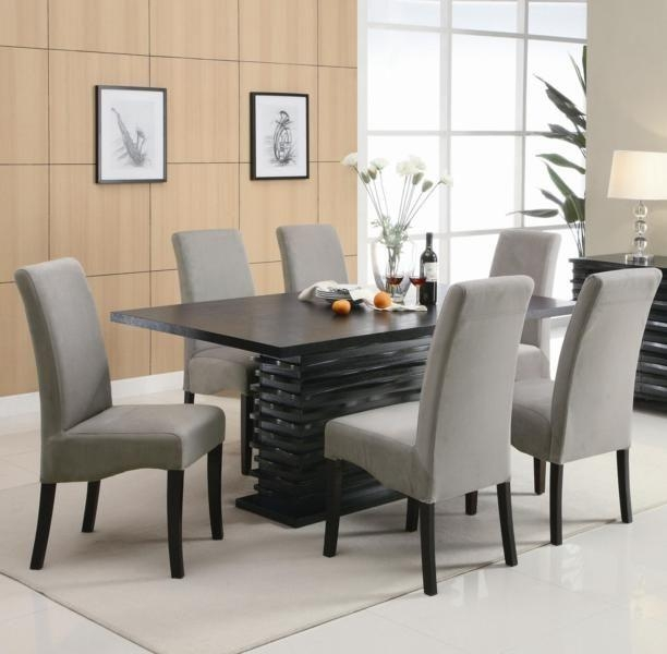 Best 25+ Granite Dining Table Ideas On Pinterest | Granite Table For Most Up To Date Black Wood Dining Tables Sets (Image 9 of 20)