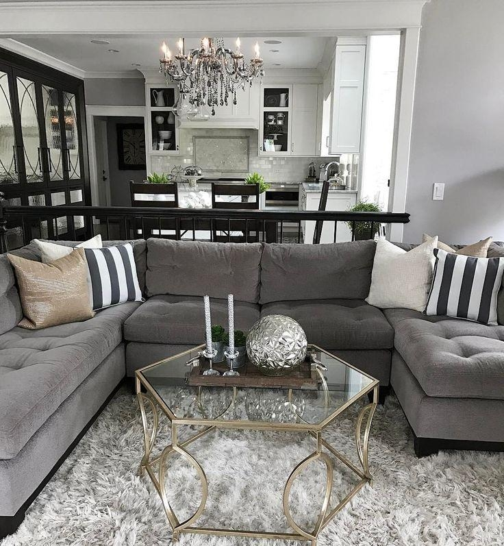 Best 25+ Gray Couch Decor Ideas On Pinterest | Neutral Living Room Intended For Gray Sofas For Living Room (View 2 of 20)