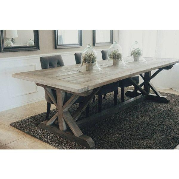 Best 25+ Gray Dining Tables Ideas On Pinterest | Gray Dining Rooms Pertaining To Most Popular Grey Dining Tables (Image 2 of 20)
