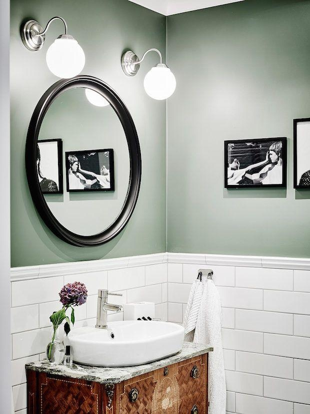 Best 25+ Green Bathrooms Ideas On Pinterest | Green Bathrooms Intended For Wall Art For Green Walls (Image 3 of 20)