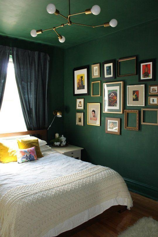 Best 25+ Green Bedroom Walls Ideas On Pinterest | Green Bedrooms Regarding Wall Art For Green Walls (Image 5 of 20)