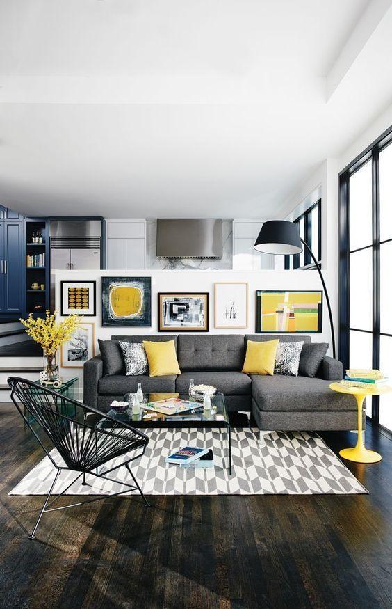 Best 25+ Grey Sofa Set Ideas On Pinterest | Chesterfield Sofas Regarding Gray Sofas For Living Room (View 18 of 20)