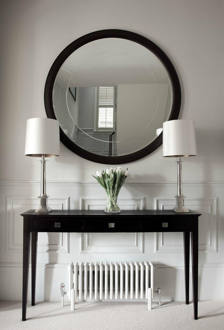 Best 25+ Hallway Console Ideas On Pinterest | Hallway Console With Modern Hall Mirrors (Image 2 of 20)