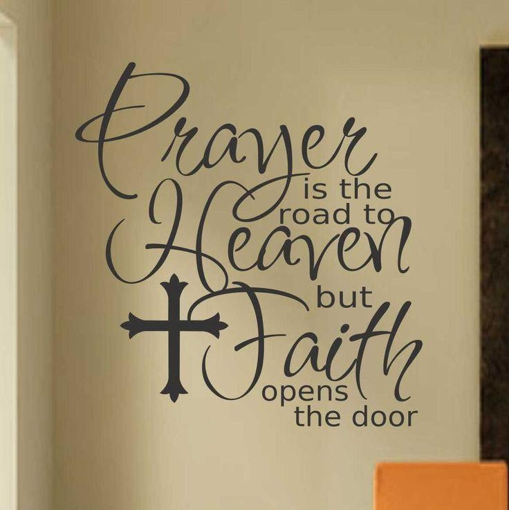 Best 25+ Inspirational Religious Quotes Ideas On Pinterest For Christian Word Art For Walls (Image 8 of 20)