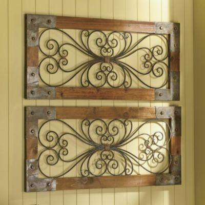 Best 25+ Iron Wall Art Ideas On Pinterest | Wrought Iron Wall Inside Wood And Iron Wall Art (Image 2 of 20)