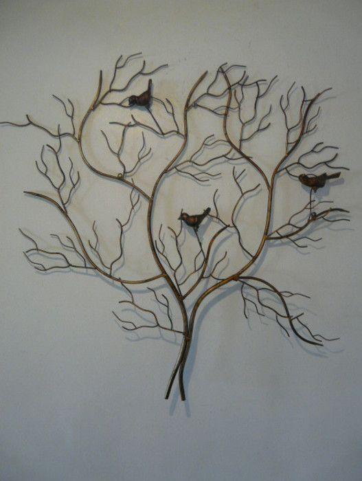 Best 25+ Iron Wall Art Ideas On Pinterest | Wrought Iron Wall Throughout Iron Tree Wall Art (Image 4 of 20)