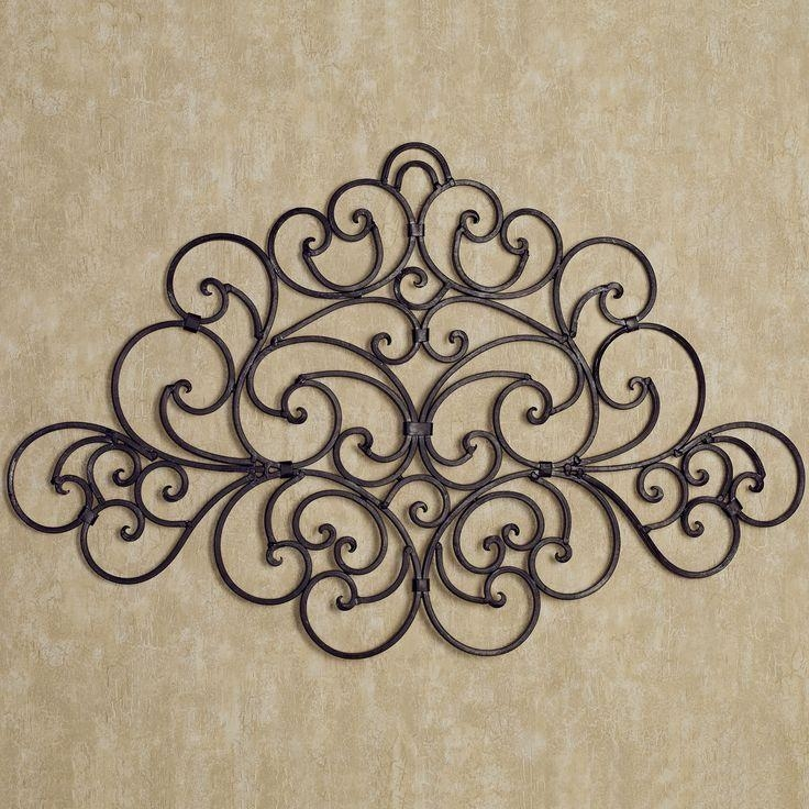 Best 25+ Iron Wall Decor Ideas On Pinterest | Family Room Inside Iron Scroll Wall Art (Image 5 of 20)