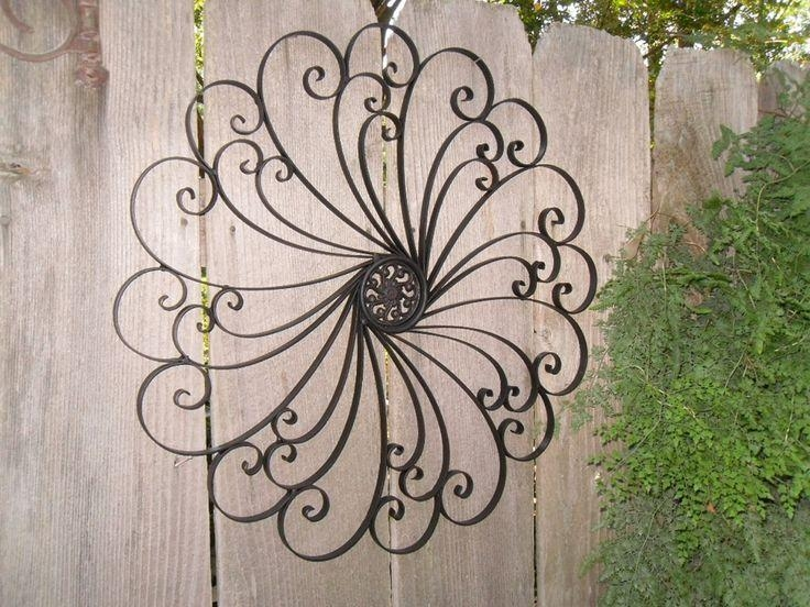 20 Ideas Of Outdoor Wrought Iron Wall Art