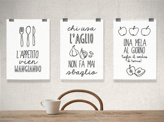 Best 25+ Italian Kitchen Decor Ideas On Pinterest | Apothecary Pertaining To Italian Words Wall Art (Image 6 of 20)