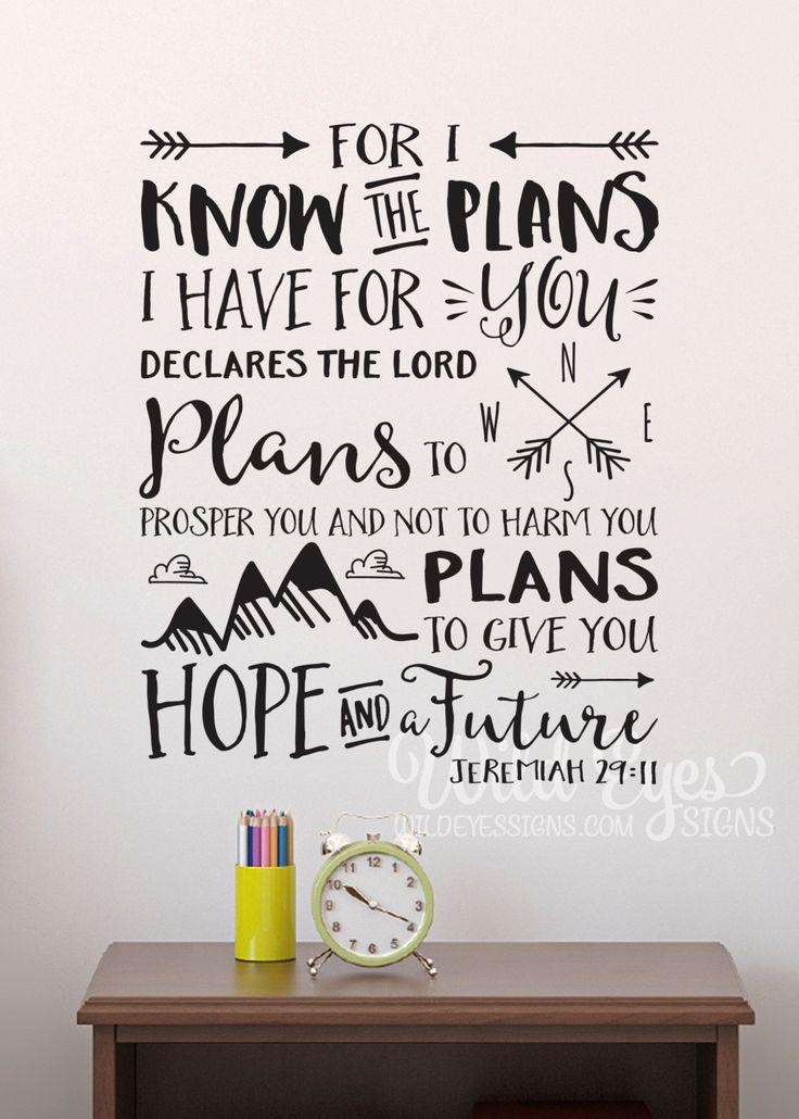 Best 25+ Jeremiah 29 11 Ideas On Pinterest | Jeremiah 11 With Jeremiah 29 11 Wall Art (Image 4 of 20)