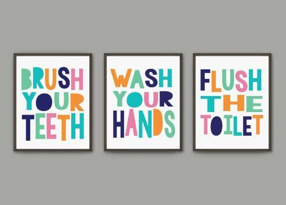 Best 25+ Kids Bathroom Art Ideas On Pinterest | Bathroom Wall Art For Kids Bathroom Wall Art (Image 5 of 20)