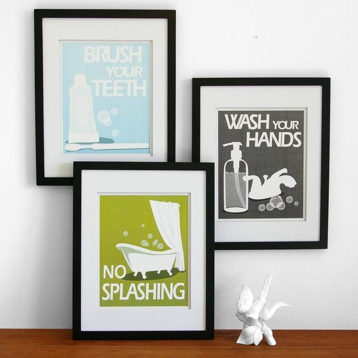 Best 25+ Kids Bathroom Art Ideas On Pinterest | Bathroom Wall Art Inside Kids Bathroom Wall Art (Image 7 of 20)