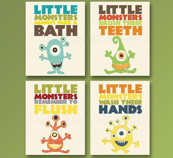 Best 25+ Kids Bathroom Art Ideas On Pinterest | Bathroom Wall Art Regarding Kids Bathroom Wall Art (Photo 18 of 20)