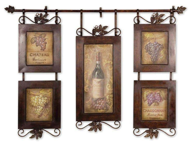 Best 25+ Kitchen Wine Decor Ideas On Pinterest | Wine Decor, Wine With Wine Themed Wall Art (Image 5 of 20)