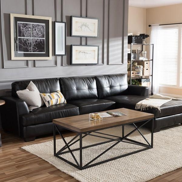 Best 25+ L Shaped Leather Sofa Ideas On Pinterest | Leather With Regard To Black Sofas Decors (View 4 of 20)