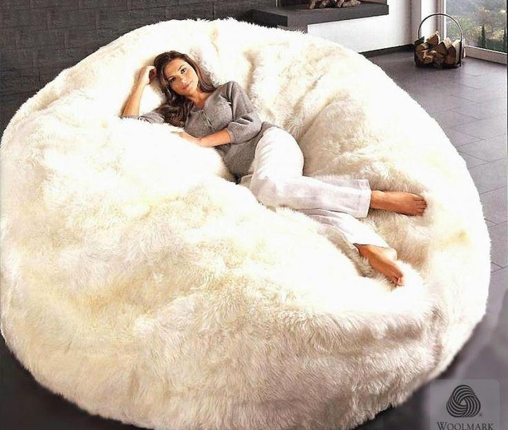 Best 25+ Large Bean Bag Chairs Ideas On Pinterest | Oversized Bean With Giant Bean Bag Chairs (Image 4 of 20)
