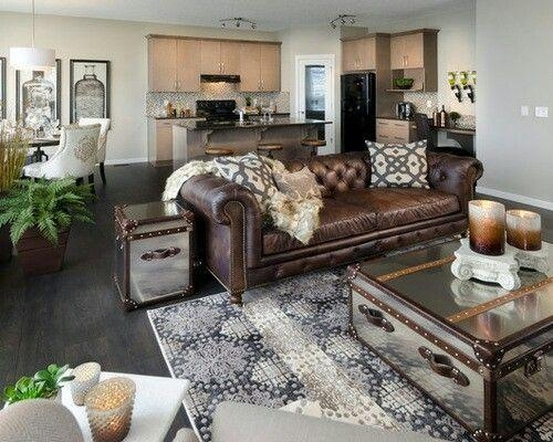Best 25+ Leather Couch Decorating Ideas On Pinterest | Leather For Brown Sofas Decorating (Image 8 of 20)