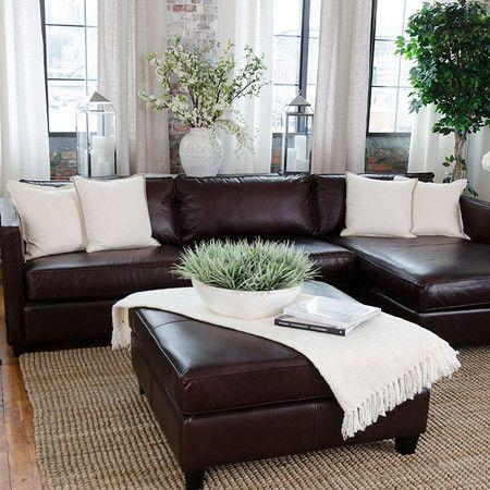 Best 25+ Leather Couch Decorating Ideas On Pinterest | Leather Throughout Living Room With Brown Sofas (Image 10 of 20)
