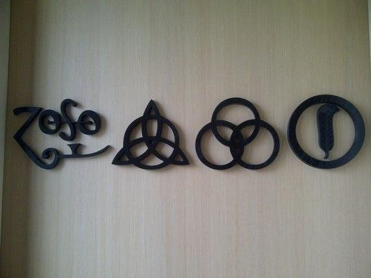 Best 25+ Led Zeppelin Symbols Ideas On Pinterest | Led Zeppelin Pertaining To Led Zeppelin Wall Art (Image 3 of 20)