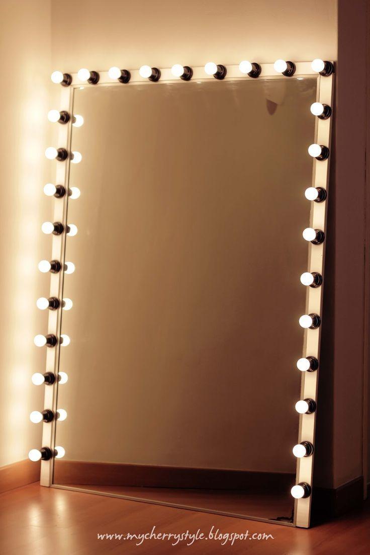 Best 25+ Lighted Makeup Mirror Ideas On Pinterest | Diy Makeup In Lit Makeup Mirrors (View 7 of 20)