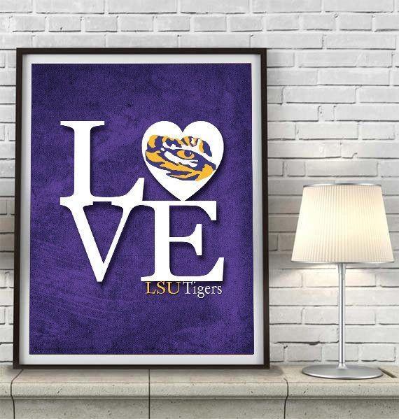 Best 25+ Louisiana State University Ideas On Pinterest | Lsu With Lsu Wall Art (Image 5 of 20)