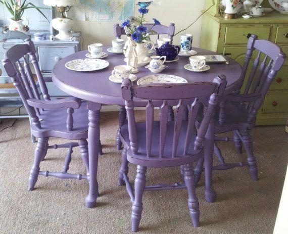 Best 25+ Mahogany Dining Table Ideas On Pinterest | Purple Dining With Regard To 2017 Dining Tables And Purple Chairs (Image 5 of 20)