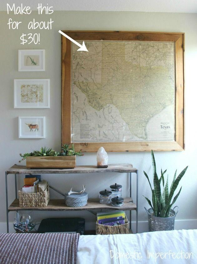 Best 25+ Map Wall Art Ideas On Pinterest | World Map Wall, Map Regarding Affordable Framed Wall Art (Image 5 of 20)