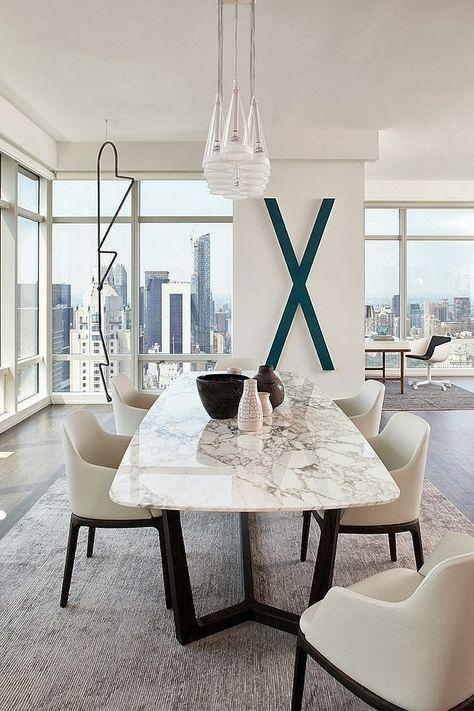 Best 25+ Marble Dining Tables Ideas On Pinterest | Marble Top Inside Most Popular Marble Effect Dining Tables And Chairs (Image 2 of 20)