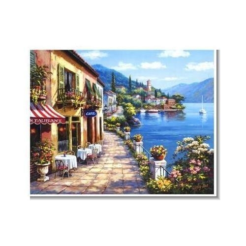Best 25+ Mediterranean Canvas Art Ideas On Pinterest Within Italian Overlook Framed Wall Art Sets (Image 10 of 20)