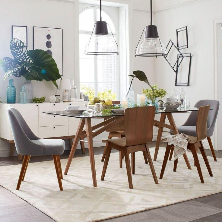 Best 25+ Mid Century Dining Table Ideas On Pinterest | Mid Century For Most Current Modern Dining Suites (View 19 of 20)