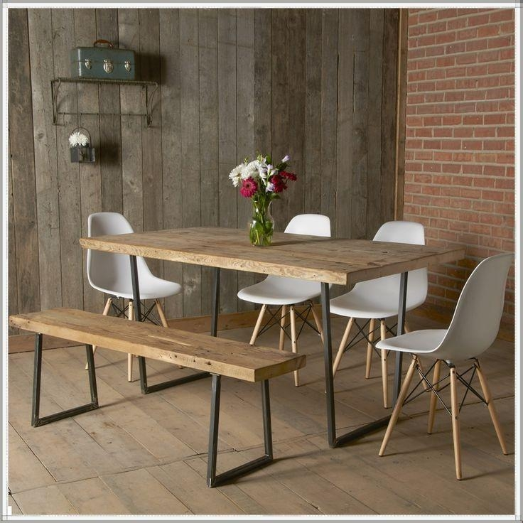 Best 25+ Modern Rustic Dining Table Ideas On Pinterest Inside Most Recent Modern Dining Tables (Image 5 of 20)