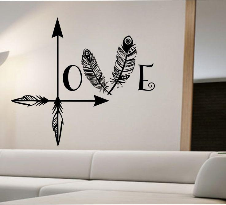 Best 25+ Modern Wall Decals Ideas On Pinterest | Minimalist Wall Regarding Wall Art Deco Decals (Image 5 of 20)