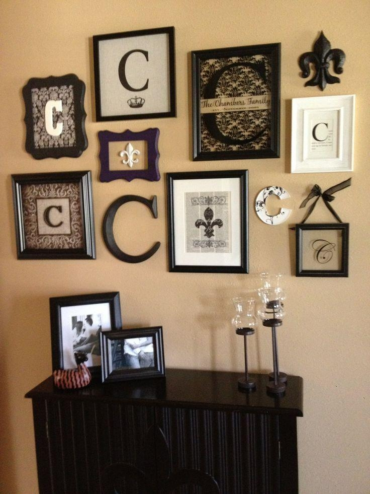 Best 25+ Monogram Wall Art Ideas On Pinterest | Pallet Wall Decor Pertaining To Monogrammed Wall Art (View 2 of 20)