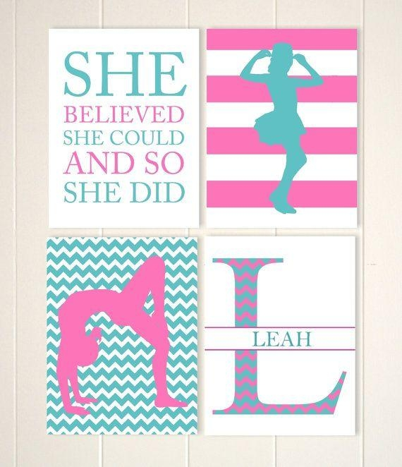 Best 25+ Monogram Wall Ideas On Pinterest | Monogram Wall In Inspirational Wall Art For Girls (Image 7 of 20)