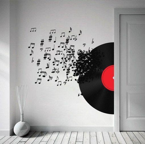 Best 25+ Music Wall Art Ideas On Pinterest | Music Wall Decor Regarding Tattoos Wall Art (Image 6 of 20)