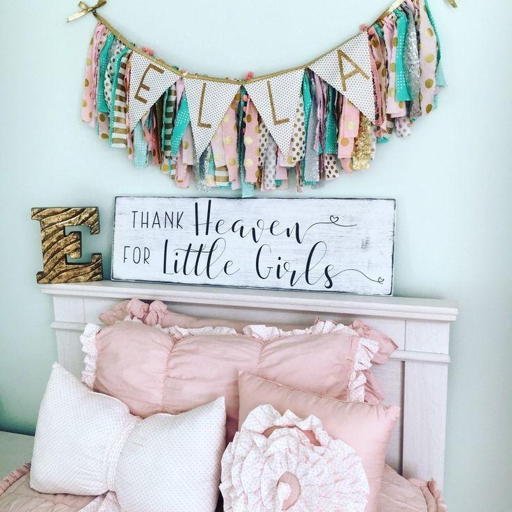 Best 25+ Nursery Wall Art Ideas On Pinterest | Baby Nursery Art Within Wall Art For Little Girl Room (Image 13 of 20)