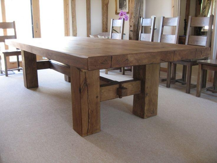 Best 25+ Oak Dining Table Ideas On Pinterest | Classic Dining Room With Regard To Latest Rustic Oak Dining Tables (Image 1 of 20)