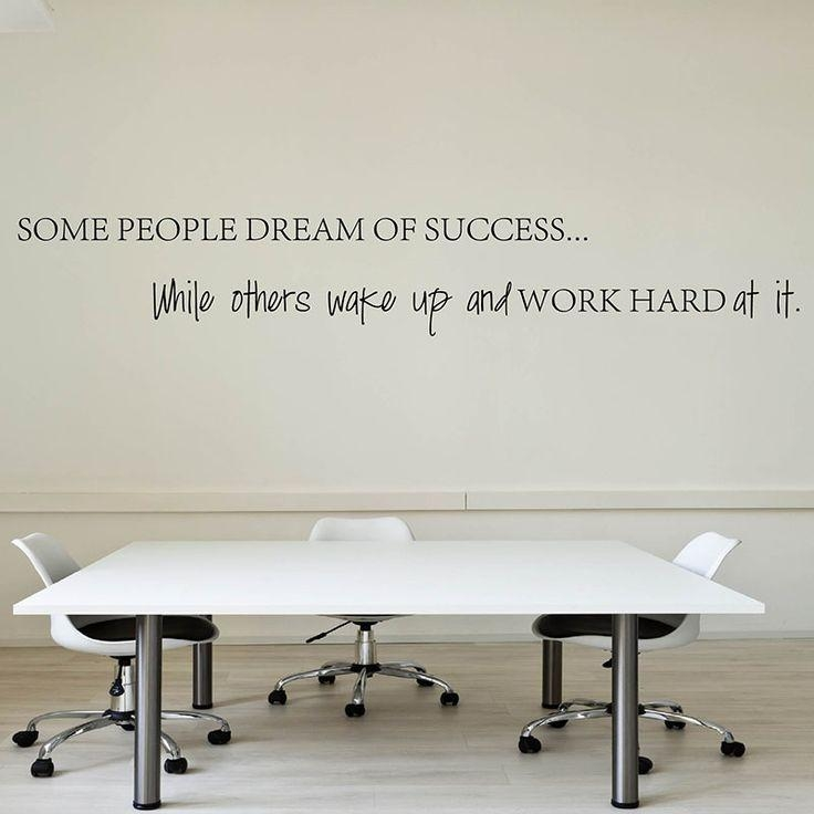 Best 25+ Office Wall Decals Ideas On Pinterest | Office Wall Art Within Inspirational Wall Decals For Office (Image 5 of 20)