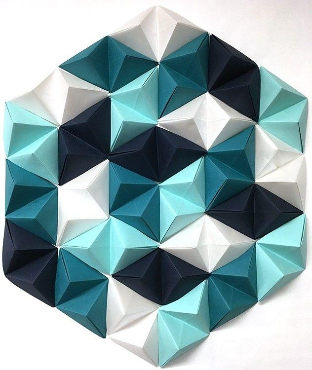 Best 25+ Origami Wall Art Ideas On Pinterest | Origami Decoration Inside Diy Origami Wall Art (Image 2 of 20)