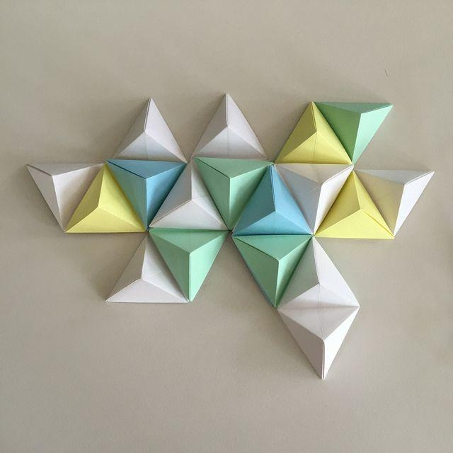 Best 25+ Origami Wall Art Ideas On Pinterest | Origami Decoration Pertaining To Diy Origami Wall Art (Image 4 of 20)